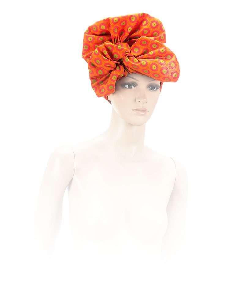 Honeycomb Pumkin Head-wrap