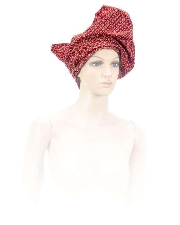 Shwe Shwe Manda Scarlet Head-Wrap