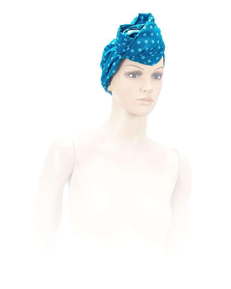 Shwe Turquoise Head-Wrap