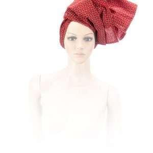 Shwe Manda Scarlet Head-Wrap